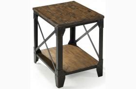 Pinebrook Rectangular Smaller End Table