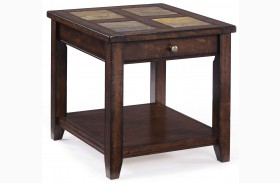 Allister Rectangular End Table