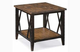Fleming Rectangular End Table