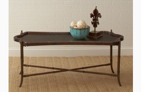 Ravenwood Cherry Rectangular Cocktail Table