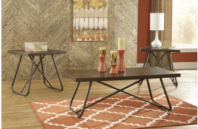Endota Browns 3 Piece Occasional Table Set