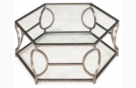 Nevelson Hexagonal Cocktail Table
