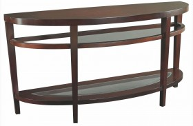 Urbana Dark Merlot Sofa Table