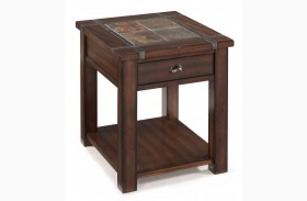 Roanoke Rectangular End Table