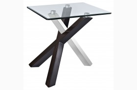 Verge Rectangular End Table