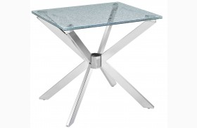 Quazar Rectangular End Table