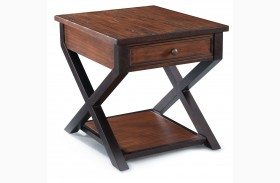Lucerne Rectangular End Table