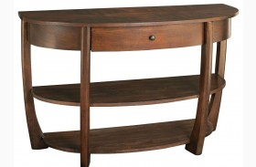 Concierge Medium Brown Sofa Table
