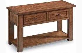 Harper Farm Warm Pine Rectangular Sofa Table