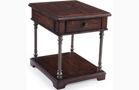 Butler Aged Tobacco Rectangular End Table