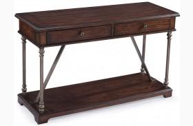 Butler Aged Tobacco Rectangular Sofa Table