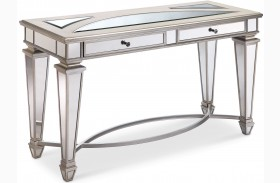 Novella Chalk Metal Rectangular Sofa Table