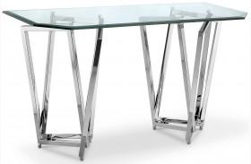 Lenox Square Nickel Rectangular Sofa Table