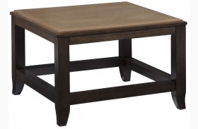 Mandoro Two-tone Brown Square Cocktail Table