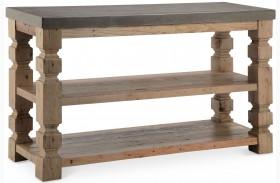 O'Brian Espresso Rectangular Sofa Table