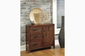 Rustic Accents Burnished Brown Accent Cabinet