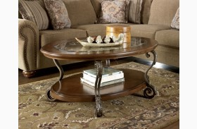 Nestor Oval Cocktail Table