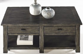 Crossroads Smokey Grey Rectangular Cocktail Table