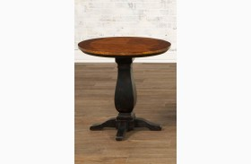 Newbury Round Pedestal End Table