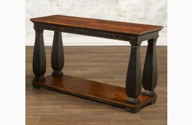 Newbury Sofa Table w/ Shelf