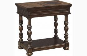 Brosana Brown Chair Side End Table