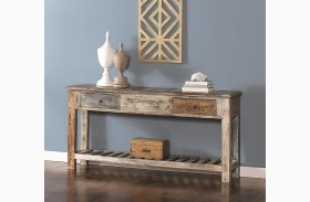 Jaipur Sofa Table with Drawers