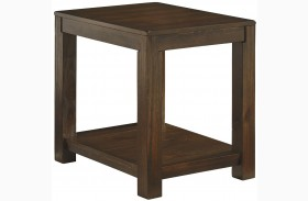 Grinlyn Rectangular End Table
