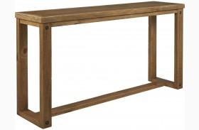 Tamilo Grayish Brown Sofa Table