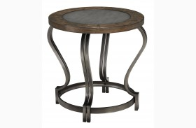Volanta Round End Table