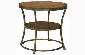 Nartina Round End Table