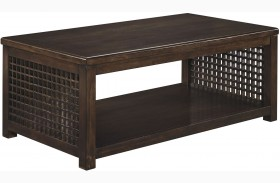 Roxenton Brown Rectangular Cocktail Table