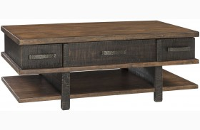 Stanah Two-tone Lift Top Cocktail Table