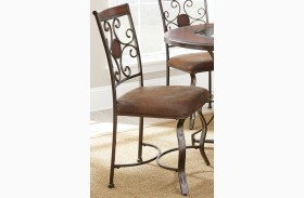 Toledo Gunmetal Side Chair Set of 2