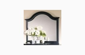 The Cottage Collection Black Landscape Mirror