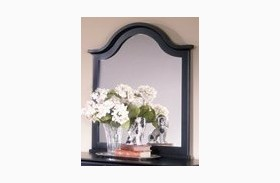 The Cottage Collection Black Vertical Mirror