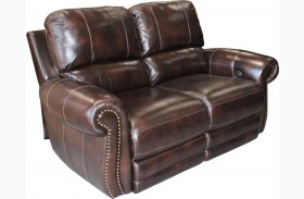 Thurston Shadow Dual Power Reclining Loveseat