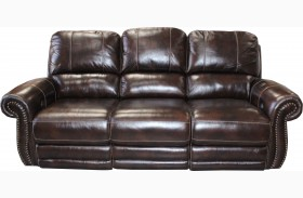 Thurston Shadow Dual Power Reclining Sofa