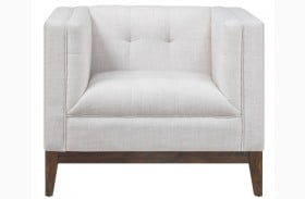 Gavin Beige Linen Chair