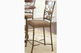 Thompson Warm Cherry Counter Chair Set of 2