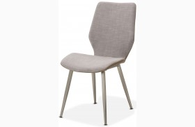 Trance Halsted Gray Side Chair