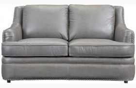 Tulsa Dark Gray Loveseat