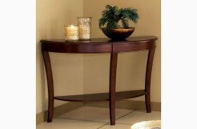 Troy Medium Brown Cherry Sofa Table