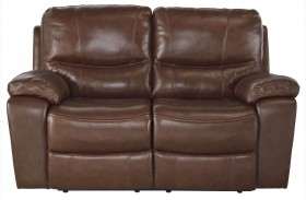 Penache Saddle Power Reclining Loveseat