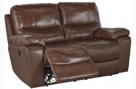 Penache Saddle Reclining Loveseat