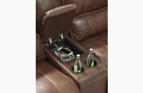 Kalel Saddle Console with Storage