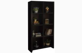 Urban Loft Mocha 8 Cubicle Bookcase