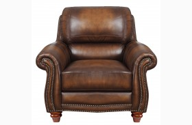 James Monaco Leather Chair