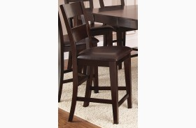 Victoria Dark Espresso Counter Chair Set of 2