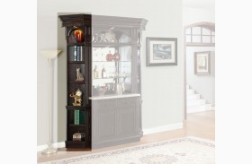 Venezia Outside Corner Bookcase