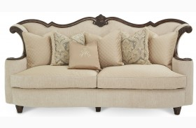 Victoria Palace Wood Trim Sofa
